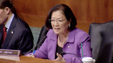 7.13.17 Hirono Grills FBI Director Nominee on Meetings with Trump Officials, Independence from Administration