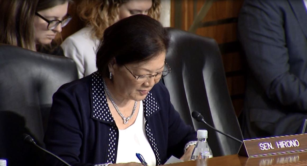 Hirono Presses Interior Secretary on Budget Cuts to Critical Land Conservation Funding