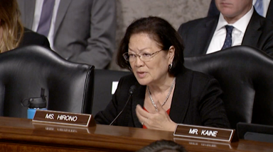 Hirono Continues Oversight of Naval Collision Investigations