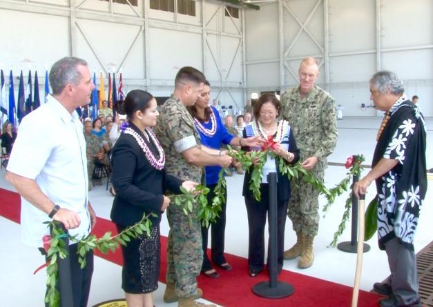 Hangar Ceremony