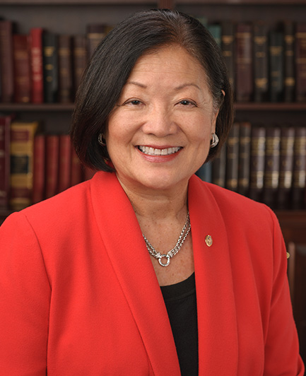 Official Portrait of Senator Mazie Hirono of Hawaii Thumbnail