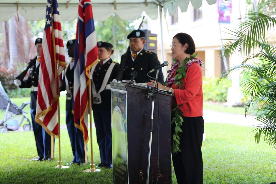 UH Veterans Day Event
